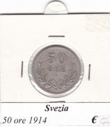 SVEZIA   50 ORE  ANNO 1914  COME DA FOTO - Svezia