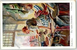 52056709 - Das Tapfere Schneiderlein Brueder Grimm Sign. Hinke, G.  Vitacolor Nr. 4784 Serie 299 - Contes, Fables & Légendes