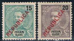 Inhambane, 1917, # 91/2, MH - Inhambane