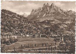 Z4756 Fiera Di Primiero (Trento) - Panorama Col Sass Maor / Viaggiata 1954 - Italie