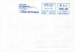 CLERMONT-FERRAND (PUY DE DOME) : CYCLISME EMA Bleue TOUR DE FRANCE 2008 - Cycling