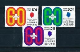 Hong Kong (Británico)  Nº Yvert  253/5  En Nuevo - Hong Kong (...-1997)