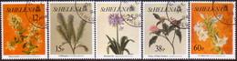 ST HELENA 1994 SG #676-80 Compl.set Used Flowers 2nd Series) - Saint Helena Island