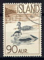 ISLANDE. - 295° - EIDERS - Used Stamps