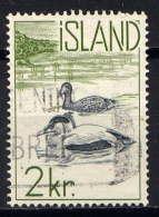 ISLANDE. - 296° - EIDERS - Used Stamps