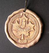 1979 Lithuania Jonava Ceramic Medal - Ceramics & Pottery
