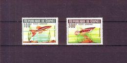 GUINÉE - YT N° PA 38/39 . Poissons Divers. 1964 - Neuf ** - Côte D'Ivoire (1960-...)