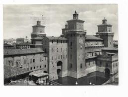 FERRARA CASTELLO ESTENSE  VIAGGIATA FG - Ferrara
