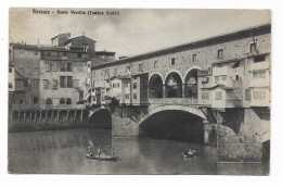 FIRENZE PONTE VECCHIO  ( TADDEO GADDI ) VIAGGIATA FP - Firenze