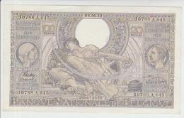 Belgium 100 Francs (04.06.1943) Pick 107 VF - [ 2] 1831-... : Belgian Kingdom