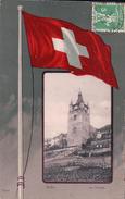Orbe Et Drapeau Suisse (556) - VD Vaud