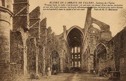 Ruines De L'abbaye De Villers - Interieur De L'Église - Villers-le-Bouillet