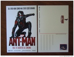 ANT-MAN Marvel Heroes Movie Film Carte Postale - Unclassified