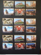 UN 2017.  SILK ROAD  New York, Genve, Vienna  Complet Sets From Booklets.  MNH **.  (E54-750) - Unused Stamps