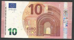 """Greece  """"Y"""" 10  EURO UNC! Draghi Signature!!  """"Y""""   Printer  Y008I1! AUNC - 10 Euro"""