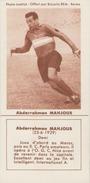 FOOTBALL - Image Biscuits REM - Abderrahman MAHJOUB - Racing Paris - Sonstige