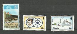 Gibraltar N°549, 568, 569 Neufs** Cote 4.65 Euros - Gibraltar