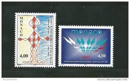 Monaco Timbres De 1997   N°2140  Et  2141   Neuf ** Vendu A La Valeur Faciale - Monaco