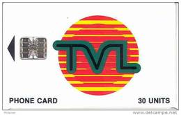 Vanuatu (nouvelles Hebrides) Telecarte Phonecard 30 Unite Generique TVL SC7 7 Numeros Rouges/C8A 7 Numeros Ut TBE - Vanuatu