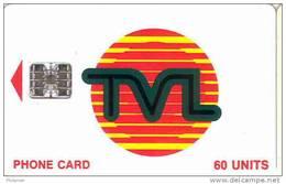 Vanuatu (nouvelles Hebrides) Telecarte Phonecard 60 Unite Generique TVL SC7 7 Numeros Rouges Ut TBE - Vanuatu