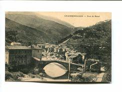 CP - CHAMBORIGAUD (30) PONT DE RASTEL - Chamborigaud