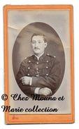 CLERMONT FERRAND - 36 EME REGIMENT D ARTILLERIE - PUY DE DOME - CDV PHOTO LEOPOLD - MILITAIRE - Guerre, Militaire