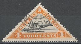 Liberia 1936. Scott #C3D (U) Waco Plane, Avion - Liberia