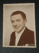 Rare Photo Dédicacée L'Humoriste Mystérieux KARMOX 1935 à Toto Cirque Medrano Magie Prestidigitation 18x13 Cm Autographe - Foto Dedicate