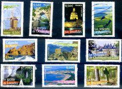 FRANCE 2006 YVERT N0 3942-3951 COTE 6.8E - Usados