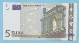 5 EURO L030I2 RARE CHARGE 80  UNC - 5 Euro