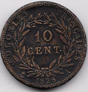 Colonies Françaises - Charles X - 10 Centimes 1825A - Colonies