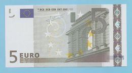 5 EURO L030G2 RARE CHARGE 80  UNC - 5 Euro