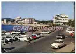 CPSM La Cote D'Azur Le Lavandou Var Vue D'ensemble De La Promenade - Le Lavandou