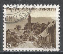 Liechtenstein 1944, Scott #199 (U) Bendern - Liechtenstein