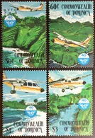 Dominica 1984 Civil Aviation Aircraft MNH - Dominica (1978-...)