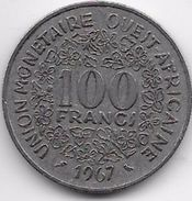 Etats De L'Afrique De L'Ouest - 100 Francs 1967 - Monnaies