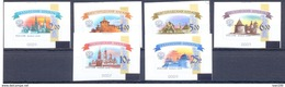 2015. Russia, 6th Definitive Issue, Kremlin, 6 Roll Stamps, Mint/** - 1992-.... Föderation