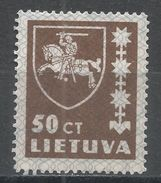 Lithuania 1937. Scott #304 (MNG) Arms, Armoirie - Lituanie