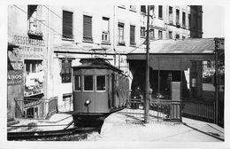 Lyon ?  : Photo  Tramway Funiculaire Train  Datée De 1956 - Lyon