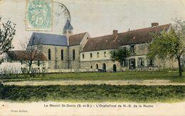 LE MESNIL SAINT DENIS(CARTE EN COULEUR) - Le Mesnil Saint Denis