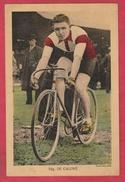 Coureur Cycliste / Wielrenner / Ciclista - Edgard De Caluwé  (1913-1985  ) Foto Groot Formaat 23 Cm /15 Cm - Cyclisme