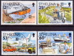 ST HELENA 1996 SG #721-25 Compl.set+m/s Used CAPEX '96 - Saint Helena Island