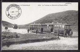 CPA 63 - Le Tramway Au Sommet Du Puy-de-Dôme - Autres Communes