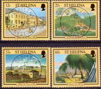 ST HELENA 1996 SG #726-29 Compl.set Used Napoleonic Sites - Saint Helena Island
