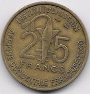 Afrique Occidentale Française - 25 Francs 1957 - Monnaies