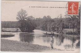Loire Atlantique : SAINT  FIACRE :  Bords  De La  Maine - France