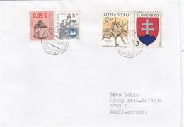GOOD SLOVAKIA Postal Cover To ESTONIA 2009 - Good Stamped: Coat Of Arms ; Sport - Slovakia