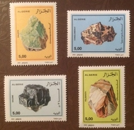 Algeria 2002 Minerals Mineral Resources Stone Stones Nature Rock Mining Geology Stamps MNH Scott#1251-1254 - Algeria (1962-...)