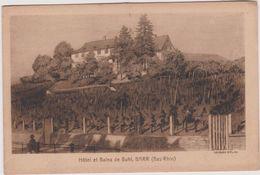 Bas  Rhin : BAAR :  Hôtel  Et  Bains   De  Buhl - Barr