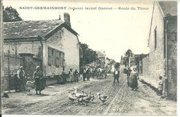Saint Germainnmont Route Du Thour - Andere Gemeenten